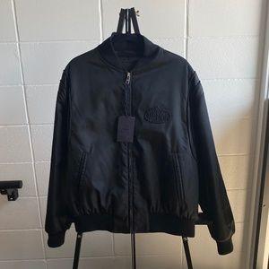 Men's Prada Bomber Jacket, size XXL, NWT